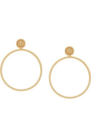 NORTHSKULL Women Earrings - Skull hoop earrings