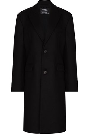 HOMMEGIRLS Women Blazers - Peak-lapel single-breasted coat