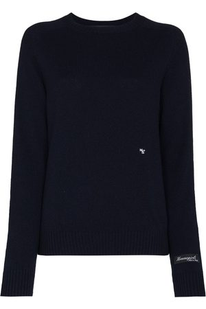 HOMMEGIRLS Women Sweaters - Logo-embroidered crew-neck jumper