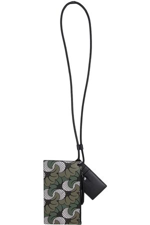 Ports V Women Purses - Floral paisley-print strap cardholder