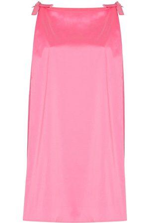 Bernadette Women Sleeveless Dresses - Bow-detail sleeveless minidress