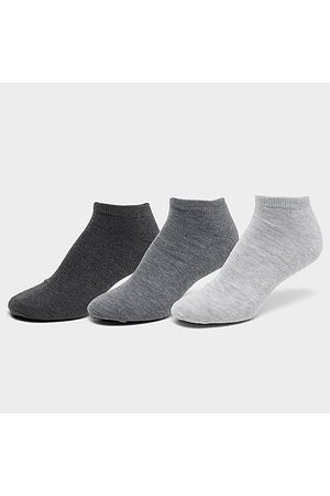 Finish Line Men Socks - Men's 6-Pack No-Show Socks in Grey/ Size Large Cotton