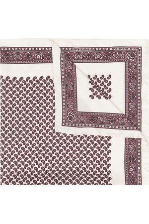 Saint Laurent Women Hair Accessories - Bandana print silk scarf