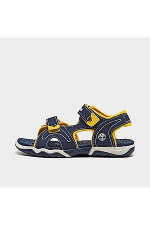 Timberland Sandals - Boys' Toddler Adventure Seeker 2-Strap Hook-and-Loop Sandals in /Navy Size 4.0 Leather/Plastic