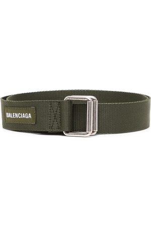 Balenciaga Men Belts - Logo-patch army belt