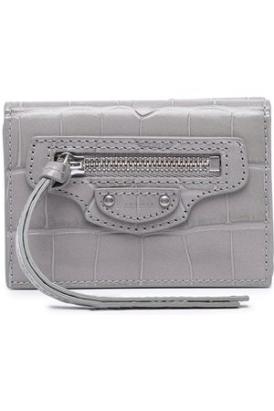 Balenciaga Women Wallets - Mini Neo Classic wallet - Grey