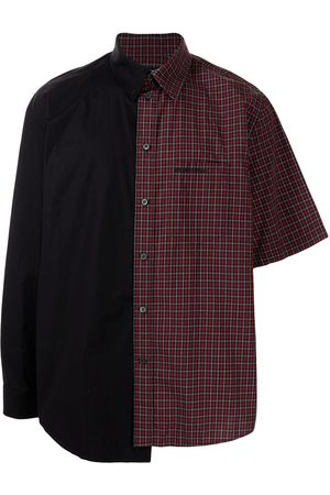 Balenciaga Long sleeves - Asymmetric two-tone shirt