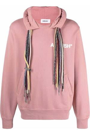 AMBUSH Men Sweatshirts - Multi-drawstring logo sweatshirt