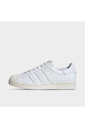 Adidas Men's Originals Superstar Vegan Casual Shoes in /Cloud Size 4.0 Polyester