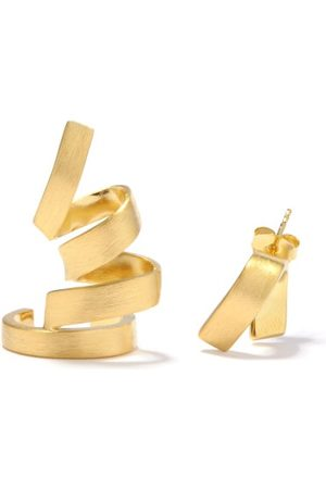 COMPLETEDWORKS Mismatched Coiled -vermeil Earrings - Womens