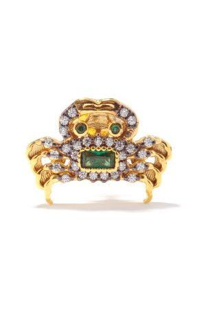 Begüm Khan King Crab 24kt Gold-plated Single Stud Earring - Womens - Multi