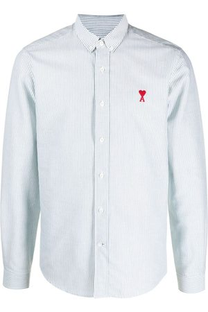 Ami Men Shirts - Ami de Coeur striped shirt