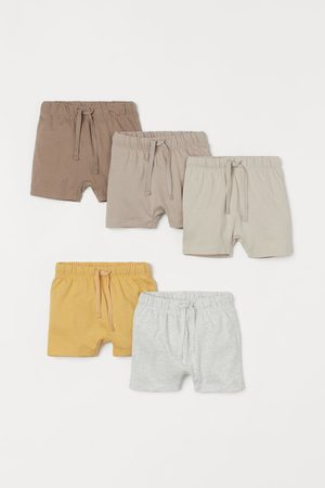 H&M Shorts - 5-pack Jersey Shorts