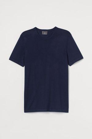 H&M Men T-shirts - Fine-knit T-shirt