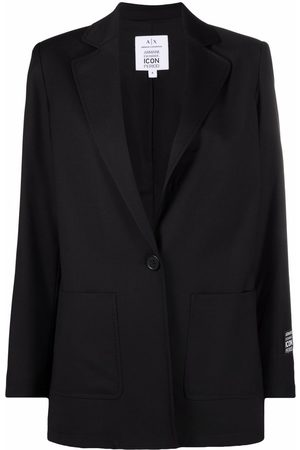 Armani Women Blazers - Single-buttoned tailored blazer