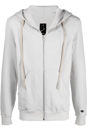 Rick Owens Drawstring-hood jacket - Grey