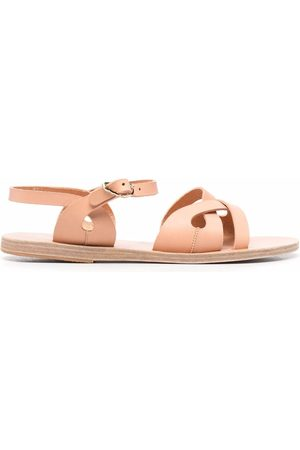 Ancient Greek Sandals Infinity cut-out leather sandals - Neutrals