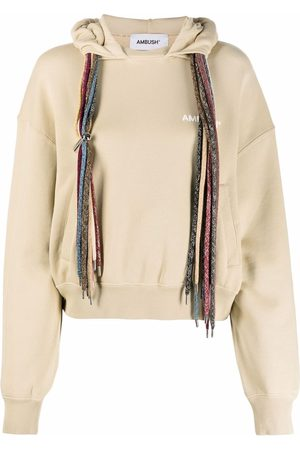AMBUSH Multi-drawstring hoodie - Neutrals