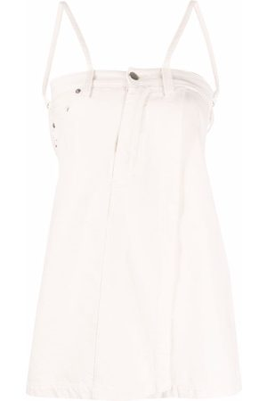 AMBUSH Layered-effect vest top - Neutrals