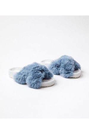 LOFT Women Slippers - Faux Fur Indoor & Outdoor Slippers