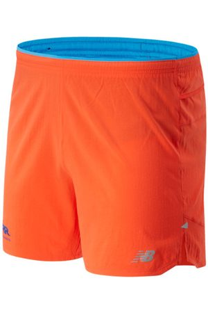 Men Sports Shorts - New Balance Men's RFL Impact Run 5 Inch Short