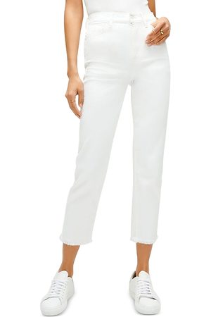 7 For All Mankind High-Waist Cropped Jeans in Prince St