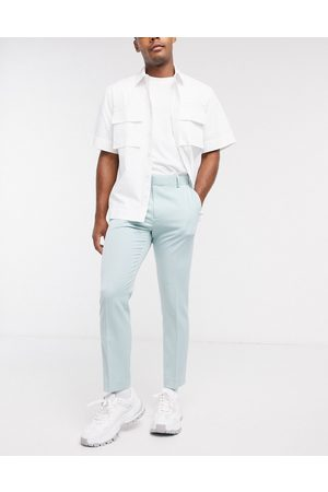 ASOS Smart skinny crop pants in -Grey