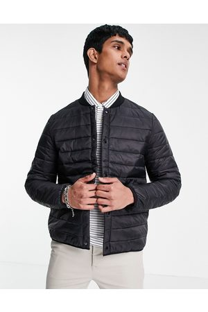 ASOS Quilted bomber liner jacket in