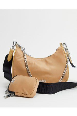 Steve Madden Women Purses - BVital crossbody bag with chain strap in -Neutral