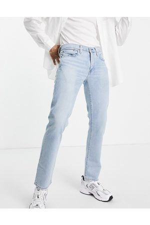 Levi's 511 slim fit jeans in stretch light indigo worn wash-Blues