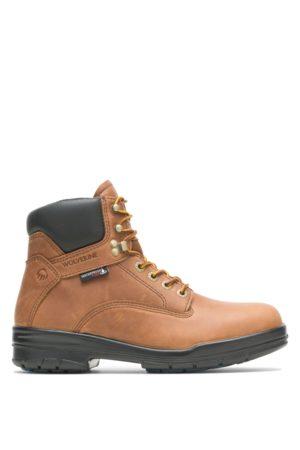 """Wolverine Men Boots - Men's DuraShocks® SR 6"""" Steel Toe Boot Copper, Size 7 Extra Wide Width"""