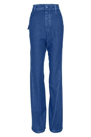 Bottega Veneta Women Wide Leg Pants - Denim Pants