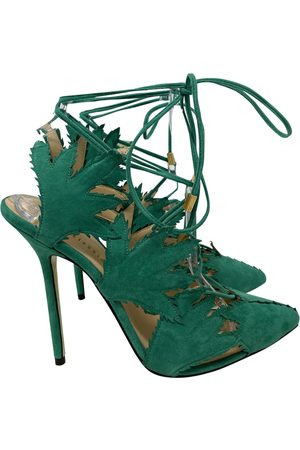 GIANNICO \N Suede Heels for Women