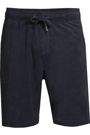 ONIA Men's Saul Towel Terry Shorts - Deep Navy - Size XL