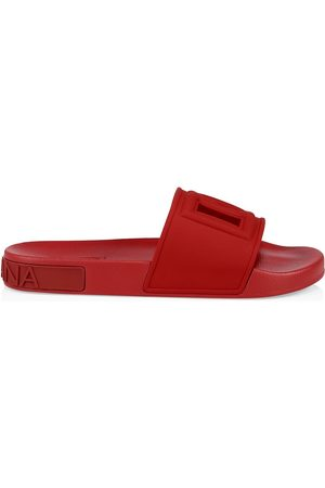 Dolce & Gabbana Men's DG Pool Slides - - Size 14 Sandals