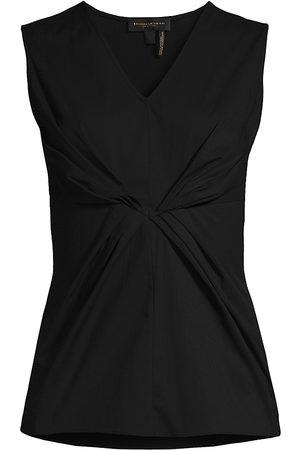 Donna Karan Women Tops - Women's Gathered Detail Shell Top - - Size XS