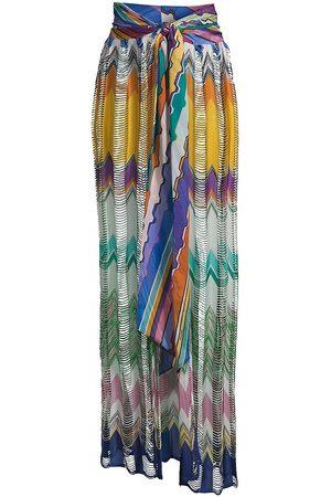 Missoni Women Beachwear - Women's Open Knit Chevron Pareo - Size 2