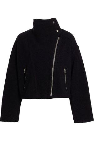 IRO Women's Wees Asymmetric Jacket - - Size 8