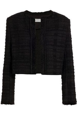 IRO Women Sports Jackets - Women's Joyner Tweed Jacket - - Size 4