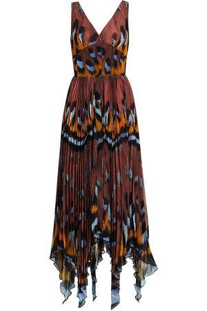Altuzarra Women Printed Dresses - Women's Annabella Printed Sleeveless Dress - Hazelwood - Size 8