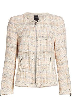 NIC+ZOE Women's Dandelion Midweight Knit Jacket - Multi - Size XS