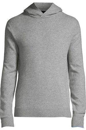 GREYSON Men's Koko Wool & Cashmere Hoodie - Light Grey - Size XL
