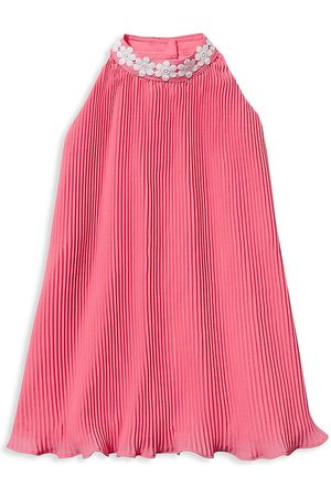 Janie and Jack Little Girl's & Girl's Pleated Halter Dress - - Size 5