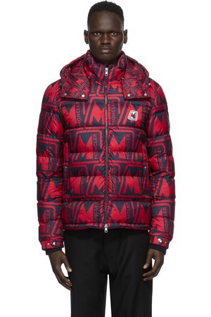 Moncler And Navy Down Frioland Jacket