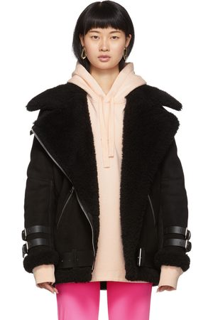 Acne Suede Shearling Velocite Jacket
