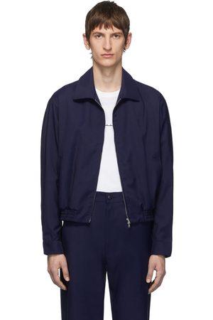 Random Identities Men Jackets - Navy Zip-Up Jacket