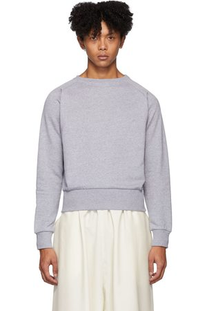 Random Identities Grey Cropped Sweater