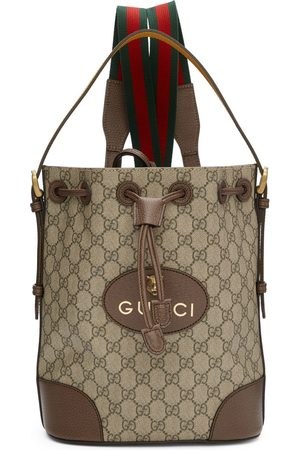 Gucci Men Rucksacks - GG Supreme Backpack