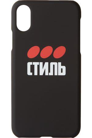 Heron Preston Style iPhone XS Case