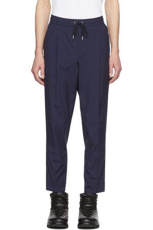 Moncler Men Pants - Navy Casual Pants